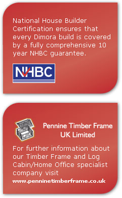 National House Builder Certification ensures that every Dimora build is covered by a fully comprehensive 10 year NHBC guarantee.